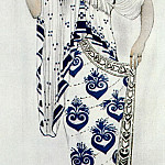 Leon Bakst - bakst helene de sparte costume-for-ida-rubinstein-as-helene