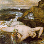 Arnold Böcklin - 1877 Triton and Nereid