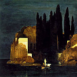 Arnold Böcklin - Bocklin The isle of the dead 1880, Kunstmuseum Basel, Basle