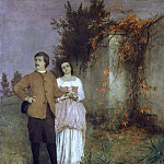 Anselm Friedrich Feuerbach - The artist and his wife