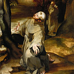 Guido Reni - Saint Francis of Assisi Receiving the Stigmata