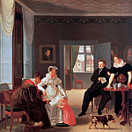 The Winther family, Emilius Baerentzen