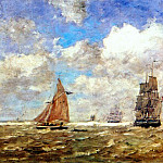 Eugene Boudin - high seas 1872-6
