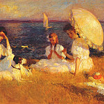 Frank Weston Benson - summer afternoon 1906