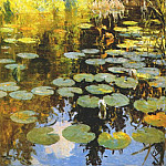 Frank Weston Benson - lily pond 1923