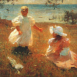 Frank Weston Benson - the sisters 1899