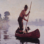 Frank Weston Benson - Indian Guide