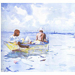 Frank Weston Benson - fl art011 souvenir in florida 1934