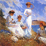 Frank Weston Benson - summer 1909