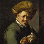 Old Man with a Hen