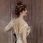 The Black Sash, Giovanni Boldini