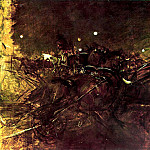Giovanni Boldini - Night on Montmartre