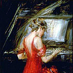 Giovanni Boldini - The Woman in Red