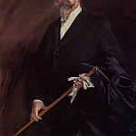 Portrait of -Willy- The Writer Henri Gauthier Villars, Giovanni Boldini