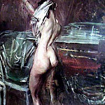 Young Dark Lady, Giovanni Boldini