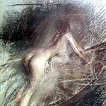 Young Lady Entering Bath, Giovanni Boldini
