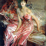 Lady in Rose, Giovanni Boldini