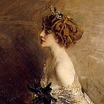 Portrait of Princess Marthe Lucile Bibesco , Giovanni Boldini