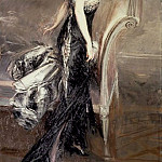 Giovanni Boldini - Portrait of a Lady 1912