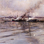 View of Venice, Giovanni Boldini