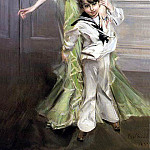 Giovanni Boldini - Madame Georges Hugo Jeanne Hugo and Her Son 1898