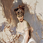 Giovanni Boldini - Portrait of Alice Regnault 1880