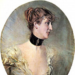 Giovanni Boldini - The Countess Ritzer