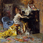 Woman at a Piano 1871 79, Giovanni Boldini
