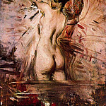 Alla Toeletta In the Bath, Giovanni Boldini