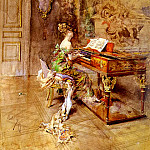 Giovanni Boldini - La Pianista The Lady Pianist