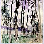 Landscape with Trees 1900, Giovanni Boldini