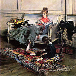 Peaceful Days aka The Music Lesson, Giovanni Boldini