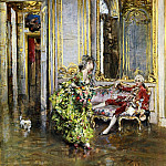 Giovanni Boldini - A Friend of the Marquis 1875