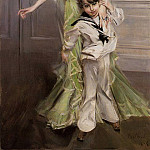 Portrait of Madame Georges Hugo and Her Son Jean, Giovanni Boldini