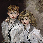 Giovanni Boldini - Two Children