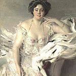 Portrait of Lady Nanne Schrader 1903, Giovanni Boldini