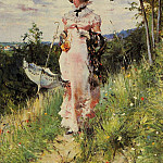 The Summer Stroll, Giovanni Boldini