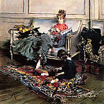 Giovanni Boldini - Peaceful Days also known as The Music Lesson