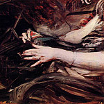 Giovanni Boldini - Sewing Hands of a Woman