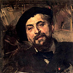 Giovanni Boldini - Portrait of the Artist Ernest Ange Duez 1894