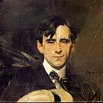 Portrait of Sem Georges Goursat , Giovanni Boldini