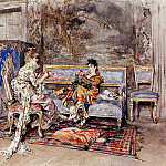 Giovanni Boldini - The Conversation