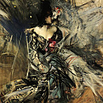 Spanish Dancer at the Moulin Rouge , Giovanni Boldini