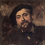 Portrait of the Artist Ernest Ange Duez, Giovanni Boldini