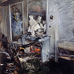 Giovanni Boldini - Berninis cardinal in studio