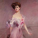 Portrait of Mrs Howard Johnston Dolly Baird of Bunbarton, Giovanni Boldini