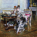 Giovanni Boldini - Confidences