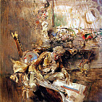 The Art Connoisseur, Giovanni Boldini