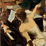 The Mondona Singer, Giovanni Boldini
