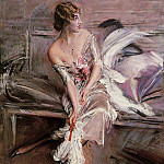 Giovanni Boldini - Portrait of Gladys Deacon